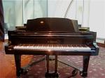 Our nice shiny rehearsal piano